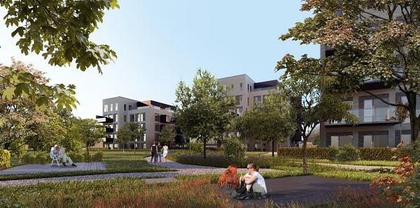 R4Y ApS er valgt til at sikre opførelsen af Enghusene på Kildevældet i Aalborg