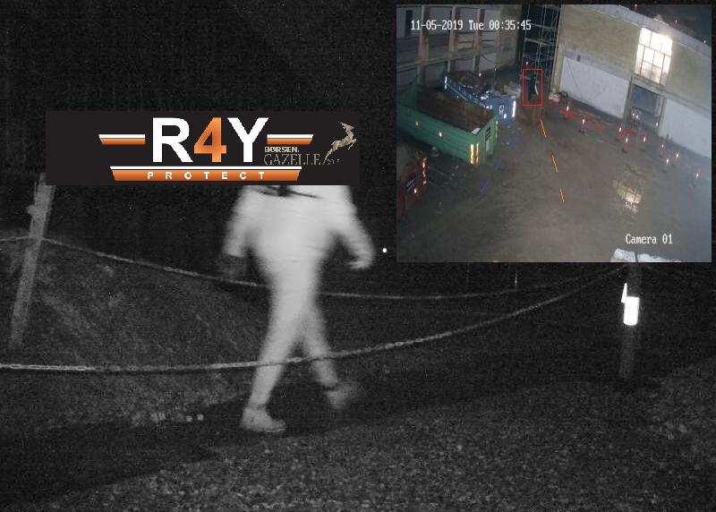 Gerningsmand opdaget af R4Y Proaktive Sikrings System