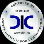 R4Y ApS er ISO 9001Certificeret