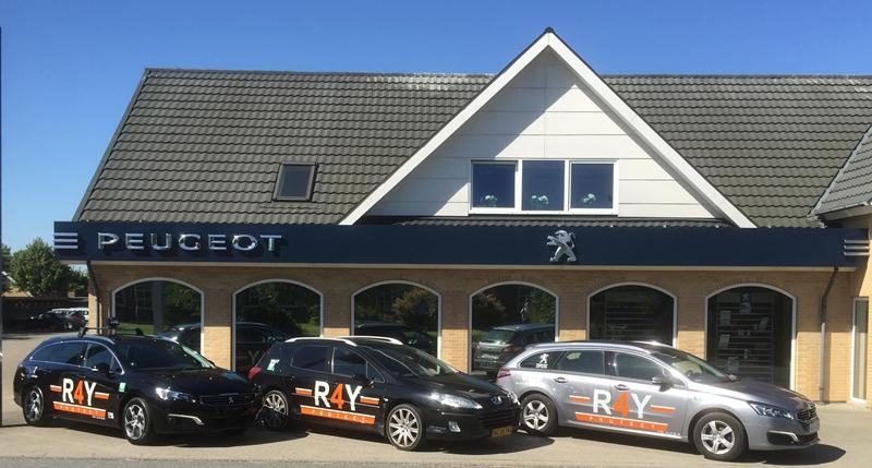 Nye Biler til R4Y fra Peugeot Bejstrup