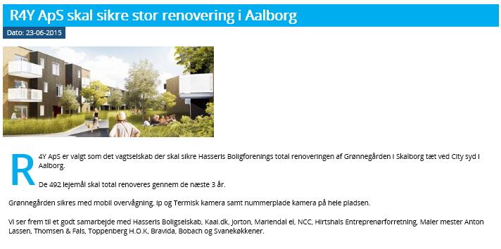 Vagtselskab Nordjylland R4Y ApS